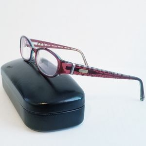 Coach Lucille 2018 Burgundy Frame Eyewear Glasses